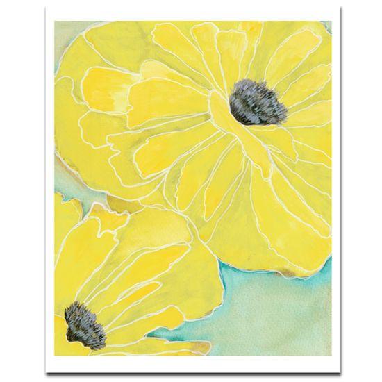 WildPoppy2 Yellow