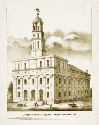Nauvoo temple copy